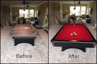 expert pool table recovering in Searcy content img3
