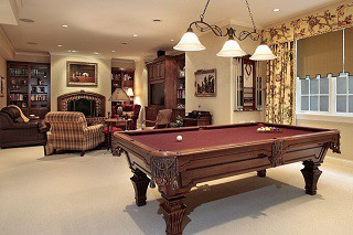 Pool table assembly with perfect leveling in Searcy content img3